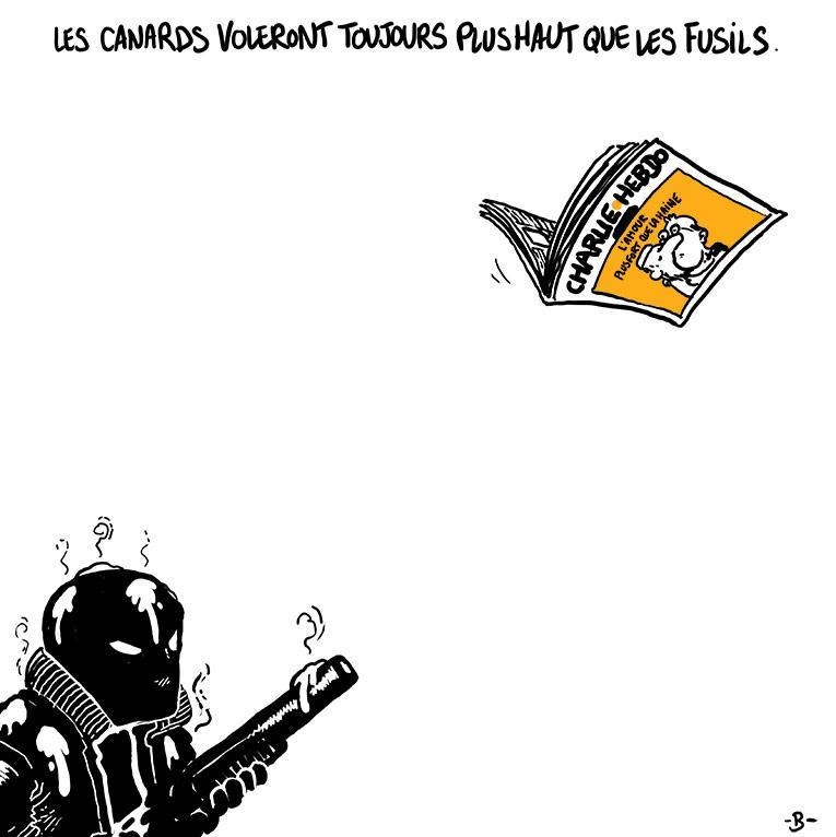 Boulet - Charlie Hebdo