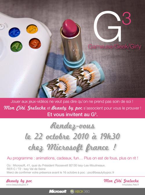 G3 Invitation