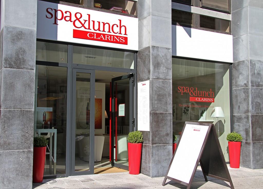 Le Spa & Lunch Clarins, un beau moment bien-être