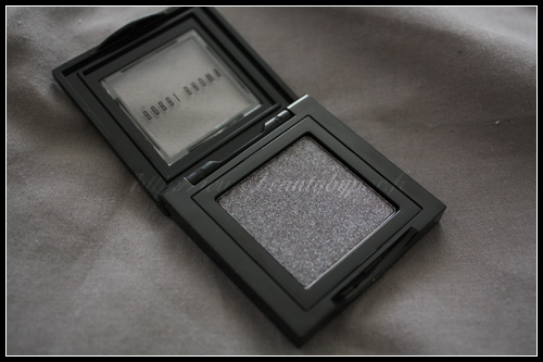 Bobbi Brown Metallic Eye Shadow Black Charcoal Black Velvet Automne 2010
