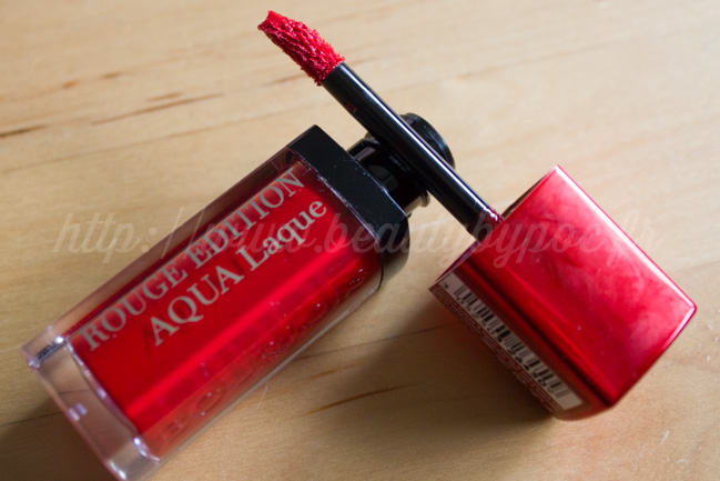 Bourjois : Rouge Edition Aqua Laque Red my lips