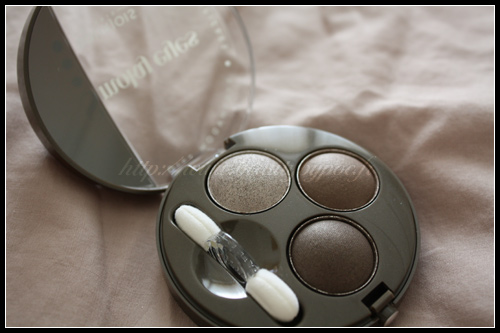 Bourjois Trio Smoky Eyes 09 Lady Vert de Gris Paris Barock Automne 2010