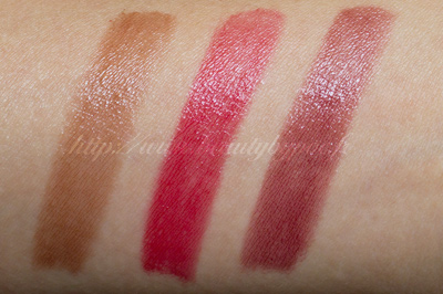 Burberry Lip Mist 204 Chestnut 205 Rosy Red 206 Blueberry