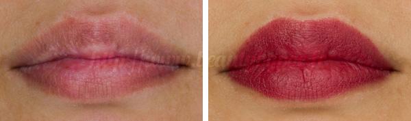 Burberry : Lip Velvet n°308 Pink Azalea & n°310 Military Red