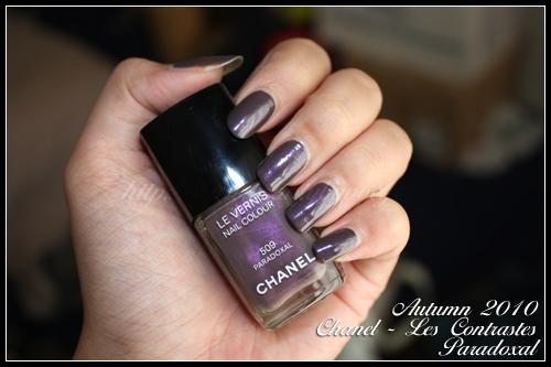 Chanel 509 Paradoxal / Les Contrastes Automne 2010