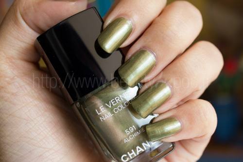CHANEL : #591 Alchimie - Superstition / Automne 2013