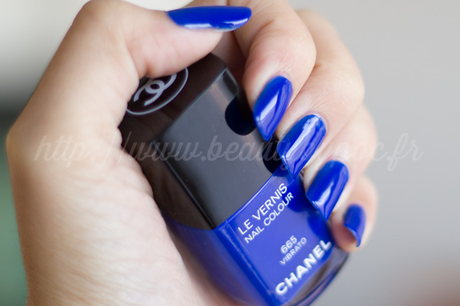 CHANEL : #665 Vibrato - Blue Rhythm