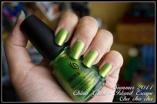 China Glaze Cha cha cha - Island Escape - Summer 2011