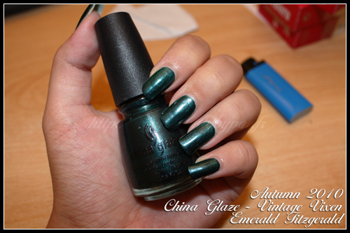 China Glaze Emerald Fitzgerald Vintage Vixen Autumn 2010