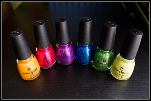 China Glaze Island Escape Summer 2011