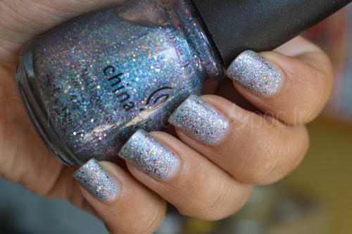 China Glaze : Liquid Crystal - Prismatic Chroma Glitters