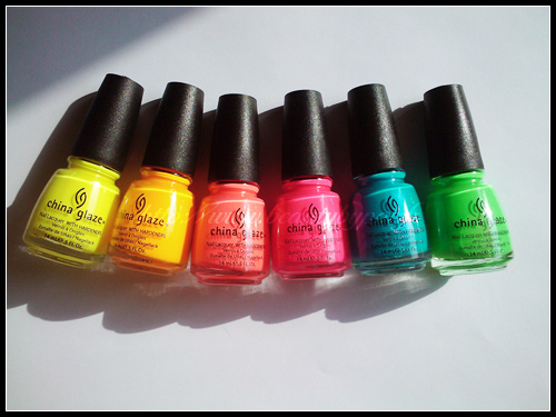 China Glaze Poolside Collection Summer 2010