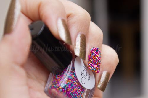 Ciaté Candyshop + Pom pom & Estée Lauder Explosif