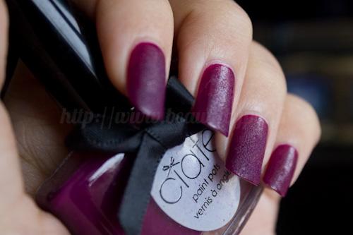 Ciaté : Velvet Manicure Set Berry Poncho