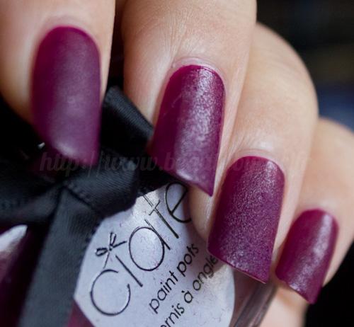 Ciaté : Velvet Manicure Set Berry Poncho / Franchement ...