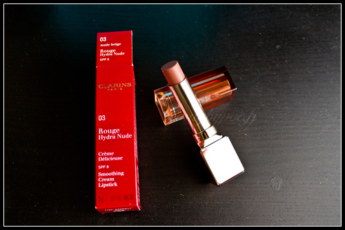 Clarins Rouge Hydra Nude 03 Nude Beige Printemps 2011