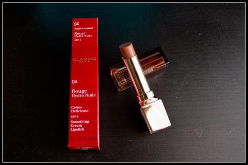 Clarins Rouge Hydra Nude 04 Nude Caramel Printemps 2011