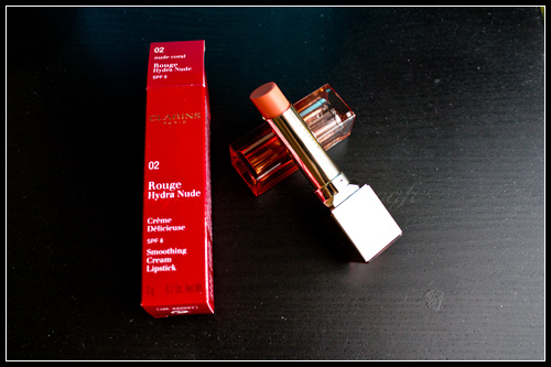 Clarins Rouge Hydra Nude 02 Nude Coral Printemps 2011