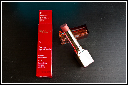 Clarins Rouge Hydra Nude 01 Nude Rose Printemps 2011