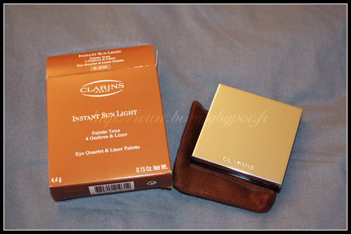 Clarins Instant Sun Light Palette 4 Ombres & Liner - Summer 2010