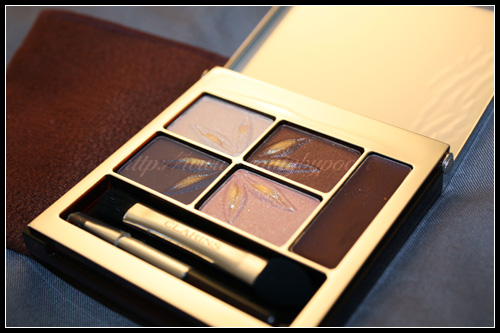 Clarins Instant Sun Light Palette 4 Ombres & Liner - Summer 2010