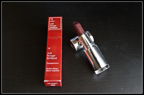 Clarins Joli Rouge Brillant 14 Grape
