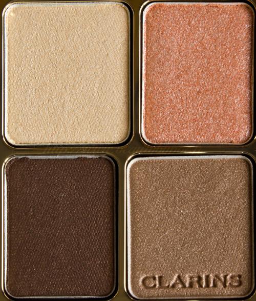 Clarins Ombre Minérale 4 Couleurs 01 Pastels & 02 Nude Colour Definition Automne 2011