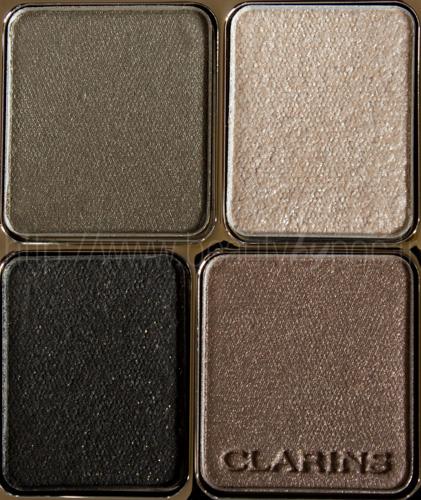 Clarins : Ombre Minérale 4 Couleurs 11 Forest - Graphic Expression / Automne 2013