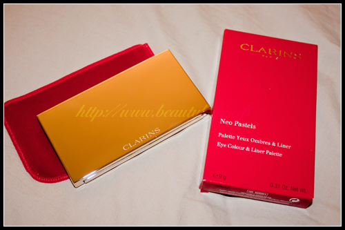 Clarins Palette Yeux Ombres & Liner Neo Pastels Printemps 2011