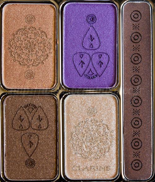 Clarins : Palette Yeux Ombres & Liner Enchanted / Eté 2012