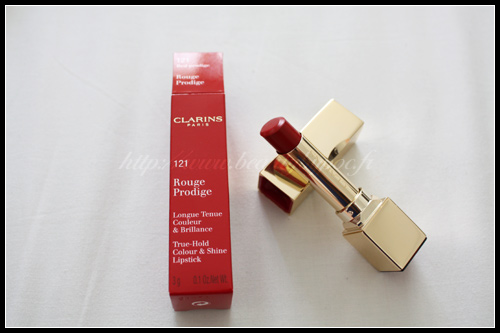Clarins Rouge Prodige 121 Red Prodige Fall 2010