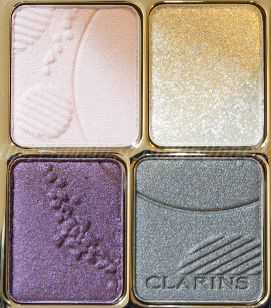 Clarins : Ombre Minérale 4 Couleurs #12 Vibrant Light - Opalescence / Printemps 2014