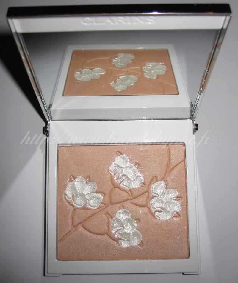 Clarins palette teint cotton flower printemps 2010 for Decoller un miroir