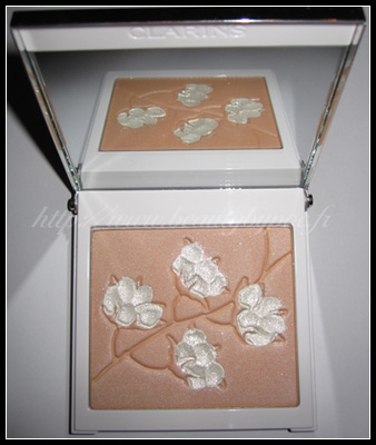 palette teint cotton flower Clarins