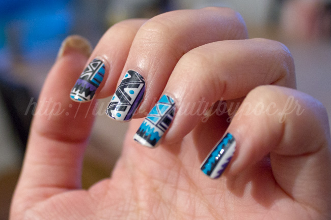 Compulsive Nails : Fringe Tribal