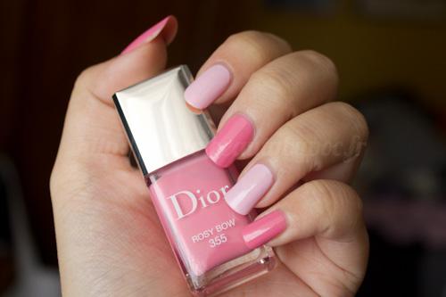 Dior : 355 Rosy Bow & 155 Tutu - Chérie Bow / Printemps 2013