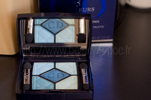 Dior : 5 Couleurs 374 Blue Lagoon - Bird of Paradise / Eté 2013