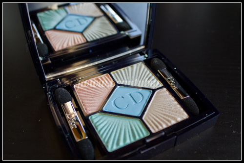 Dior : Palette 5 Couleurs Croisette Edition #224 Swimming Pool & #654 Aurora / Eté 2012