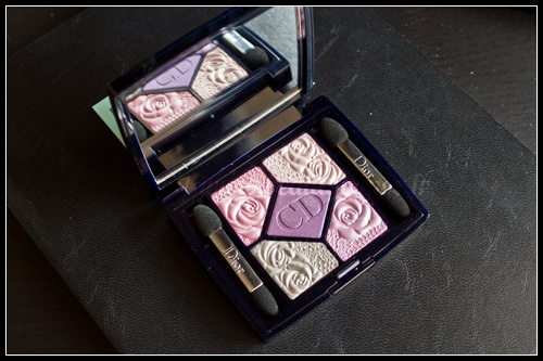 Dior : Palette 5 couleurs Garden Edition - #841 Garden Roses & #441 Garden Pastels / Garden Party - Printemps 2012