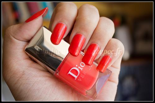 Dior : Vernis 537 Riviera