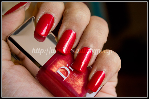 Dior : #651 Merveille / Les Rouges Or - Noël 2011