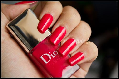 Dior : Lucky / Vernis n°659 & Dior Addict Extrême n°536
