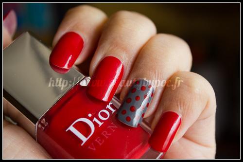 Dior  999 Rouge Altesse \u0026 707 Gris Montaigne , L\u0027Anniversaire des