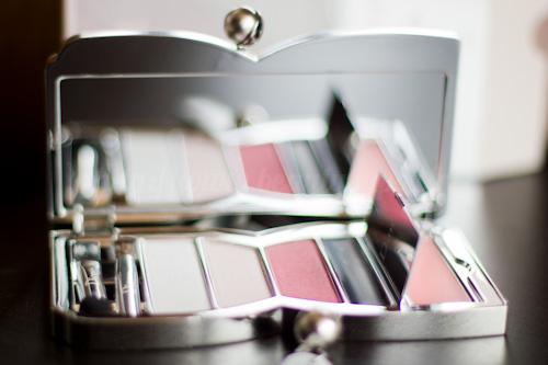 Dior : Palette Chérie Bow 002 Rose Perle - Chérie Bow / Printemps 2013