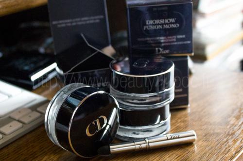 Dior : Diorshow Fusion Mono #081 Aventure, #281 Cosmos & #381 Millenium / Automne 2013