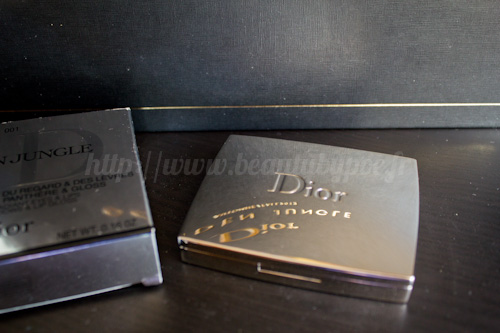 Dior : Palette 001 Golden Khakis - Golden Jungle / Automne 2012