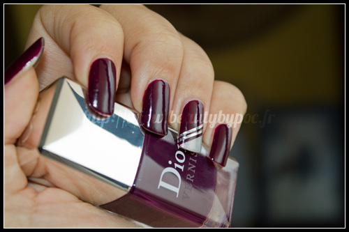 Dior : n°981 Orchid - Les Violets Hypnotiques + Striping Tape