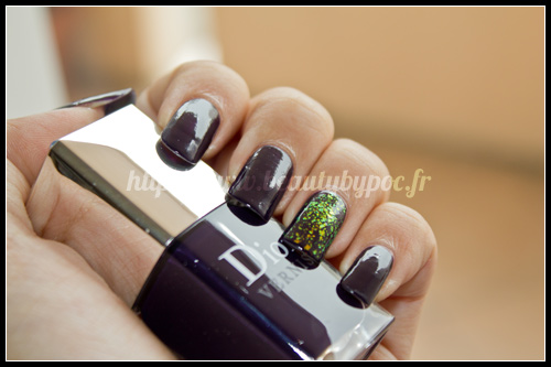 Dior : n°996 Poison - Les Violets Hypnotiques + Essie : Shine of The Times - LuxEffects
