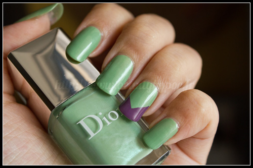Dior : #504 Waterlily & #694 Forget-Me-Not / Garden Party - Printemps 2012
