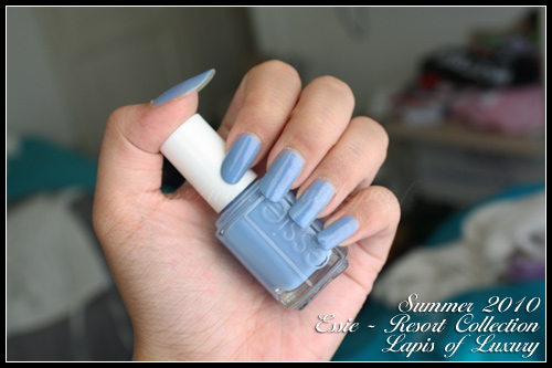 Essie Lapis of Luxury Resort Collection Summer 2010